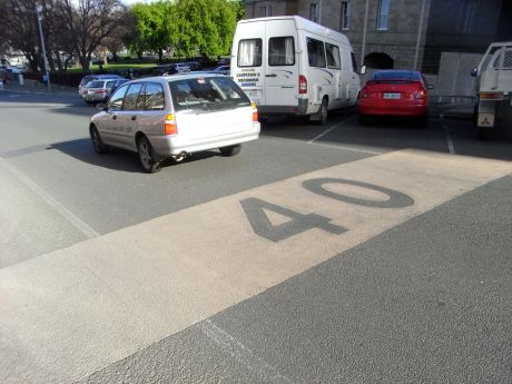 A small section of Murray St is now 40km/hr